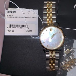 """Movado Museum Collection """"mother of pearl"""""""